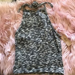 American Eagle knitted halter top